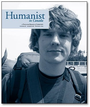 Humanist in Canada issue 146 cover