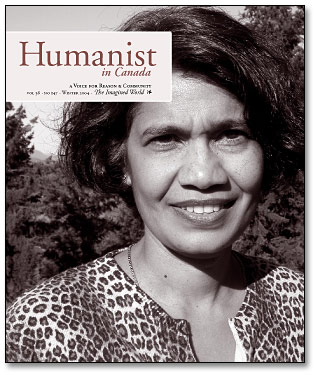 Humanist in Canada issue 147 cover