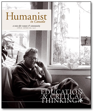 Humanist in Canada issue 150 cover