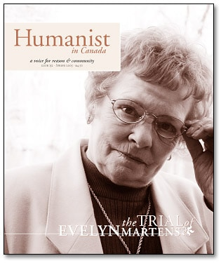 Humanist in Canada issue 152 cover