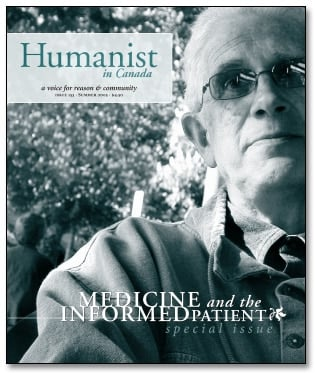 Humanist in Canada issue 153 cover