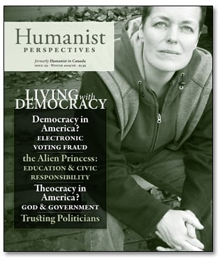 Humanist Perspectives issue 155 cover