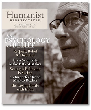 Humanist Perspectives issue 158 cover