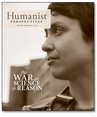 Humanist Perspectives issue 160 cover