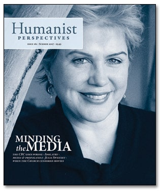 Humanist Perspectives issue 161 cover