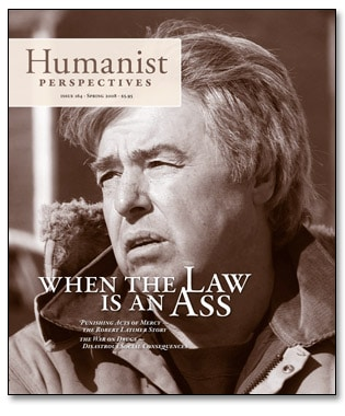 Humanist Perspectives issue 164 cover