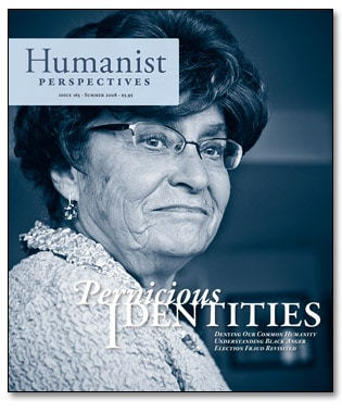 Humanist Perspectives issue 165 cover